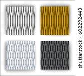 geometry  pattern  | Shutterstock .eps vector #602292443