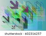 way template idea | Shutterstock .eps vector #602316257