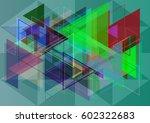 geography art template | Shutterstock .eps vector #602322683