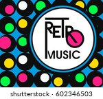 banner with abstract music... | Shutterstock . vector #602346503