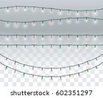 set of real bright colorful...   Shutterstock .eps vector #602351297