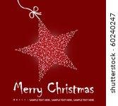 Christmas Star Illustration  ...