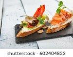 restaurant food   delicious... | Shutterstock . vector #602404823