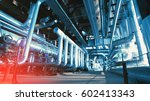 industrial zone  steel... | Shutterstock . vector #602413343
