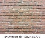 fade bricks wall as background | Shutterstock . vector #602436773