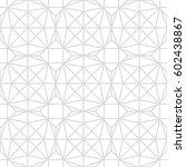 art deco seamless background. | Shutterstock .eps vector #602438867