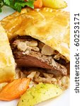 Meat And Mushrooms Pie  A Potato