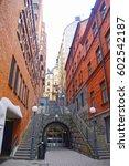 swedish architecture  historic... | Shutterstock . vector #602542187