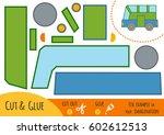 education paper game for... | Shutterstock .eps vector #602612513