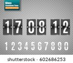 countdown timer isolated on... | Shutterstock .eps vector #602686253