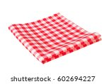 Red Picnic Cloth Folded...