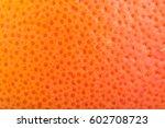 Macro Grapefruit Texture