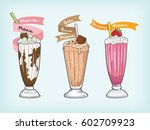Milkshake Vector Design
