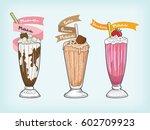 Milkshake Vector Design