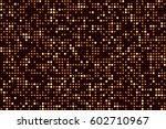 bronze futuristic abstract... | Shutterstock .eps vector #602710967