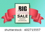 sale banner with realistic... | Shutterstock .eps vector #602715557