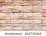 old brick wall texture. brick... | Shutterstock . vector #602732363