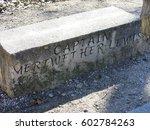 Marker For Captain Meriwether...