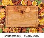 horizontal frame composed of... | Shutterstock . vector #602828087