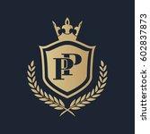 pp logo | Shutterstock .eps vector #602837873