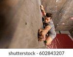 fitness  extreme sport ... | Shutterstock . vector #602843207