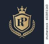 rp logo | Shutterstock .eps vector #602851163