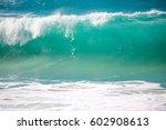 Big Blue Wave At North Shore...