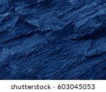 Close Up Rocks. Dark Stone...