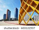 vienna modern architecture in... | Shutterstock . vector #603122537