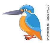 vector image of the cartoon... | Shutterstock .eps vector #603149177