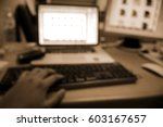 picture blurred  for background ... | Shutterstock . vector #603167657