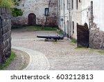 Narrow Courtyard Of Viborgs...