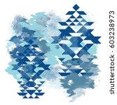 ethnic pattern. t shirt design... | Shutterstock . vector #603238973