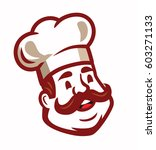 chef icon emblem isolated on... | Shutterstock .eps vector #603271133