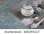 natural ingredients for...   Shutterstock . vector #603293117