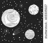 hand drawn vector illustration...   Shutterstock .eps vector #603335027