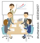 meeting  presentation | Shutterstock .eps vector #603356057
