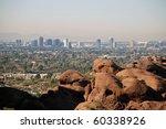 Phoenix Skyline  View From...