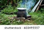 cook  prepare food | Shutterstock . vector #603495557