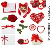 Valentine Collection Isolated...