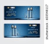 gift voucher hydrating facial... | Shutterstock .eps vector #603548117