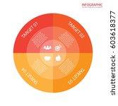 vector circle arrows... | Shutterstock .eps vector #603618377