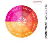 vector circle arrows... | Shutterstock .eps vector #603618443