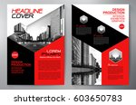 business brochure. flyer design.... | Shutterstock .eps vector #603650783