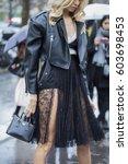 paris march 6  2017. street... | Shutterstock . vector #603698453