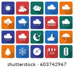 collection of rounded square... | Shutterstock .eps vector #603742967