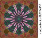 yoga logo  background for... | Shutterstock .eps vector #603776453