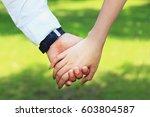 holding hands   Shutterstock . vector #603804587