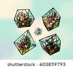hand drawn vector illustration  ...   Shutterstock .eps vector #603859793