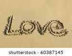 Love On Sand